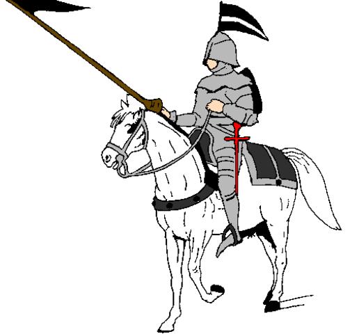O Cavaleiro parte para Florença.