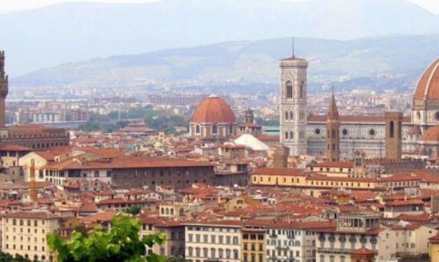 Chegada do Cavaleiro a Florença.