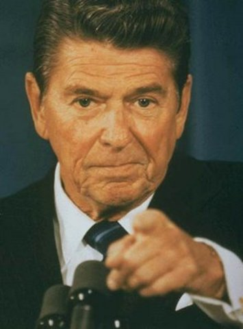 Reagan elected, promising to bring America back to its' conservative roots