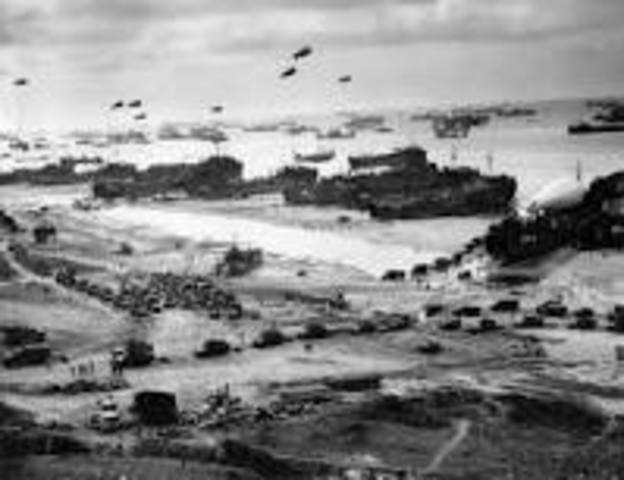 D-Day Normandy invasion