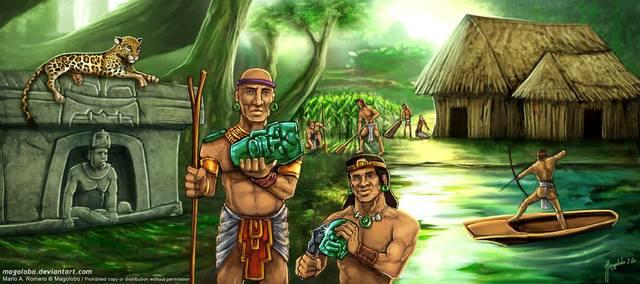 1200 AC - 400 AC Nace la cultura olmecas