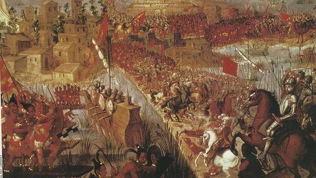 Caida del Imperio Azteca