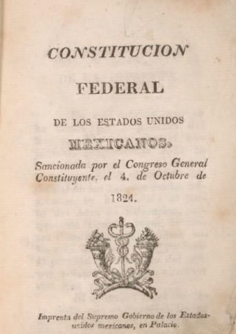 Constitucion de 1824