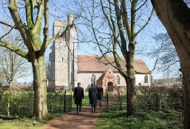 Wedding in St Mary's