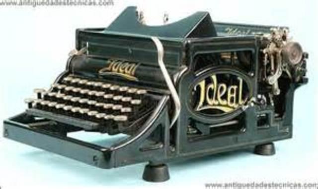 Máquina de escribir silenciosa