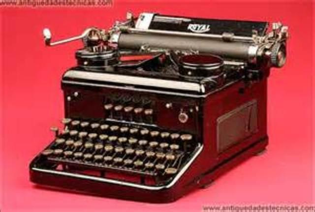 Máquina de escribir china
