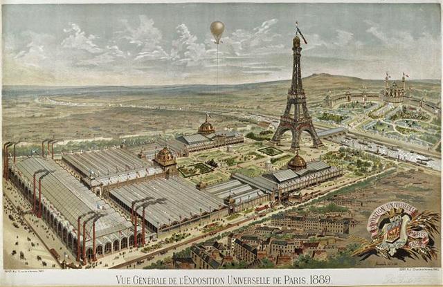 Expo Universal Paris (Presentación Torre Eiffel)