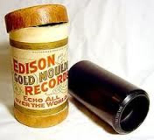 Cilindro de fonógrafo