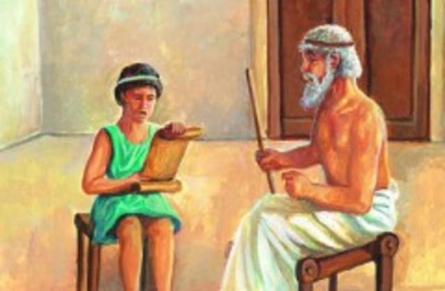 2500 aC. Educación en Roma