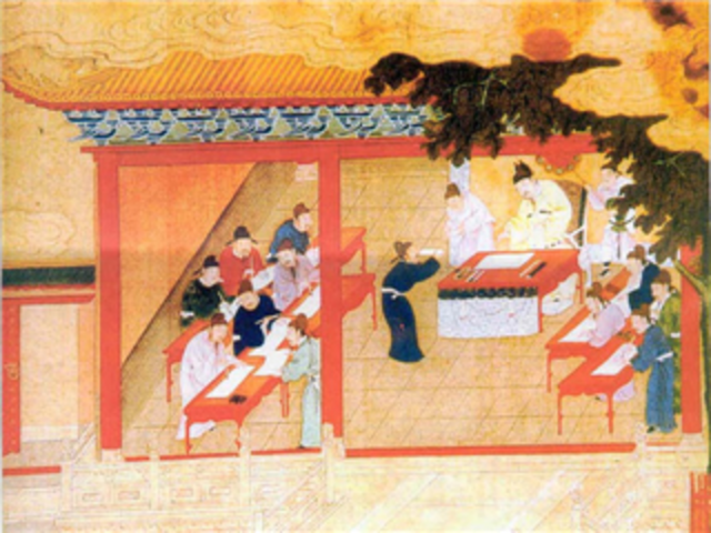 Educacion en la Antigua China 3500 A.C