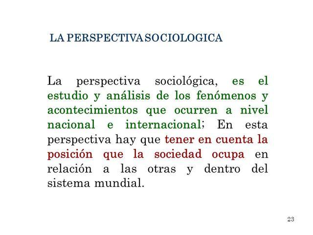 Perspectivas Sociológicas de la Educación siglo XX-XXI