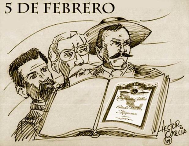 Creación de la constotución mexicana