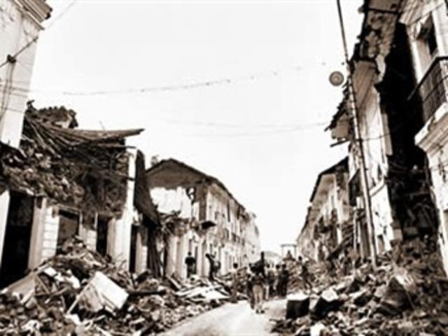 Reconstrucción en Popayan