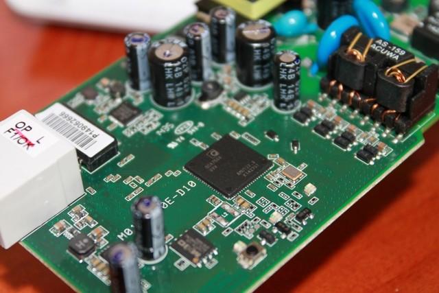 La funcionalidad del PLC fue descubierta en un chip