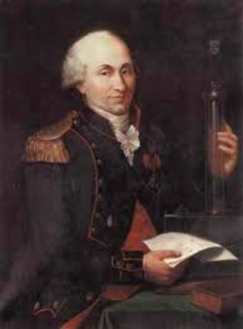 Charles Agustin de Coulomb  (1736-1806)