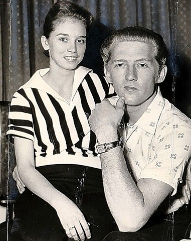 Jerry Lee Lewis is found to have married his second cousin Myra