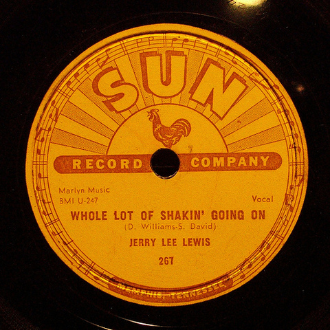 """Jerry Lee Lewis release the hit song """"Whole Lotta Shaking Going On"""""""
