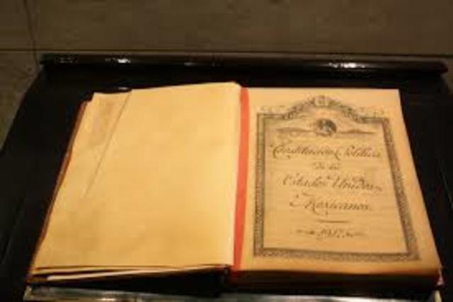 Constitucion Mexicana Actual
