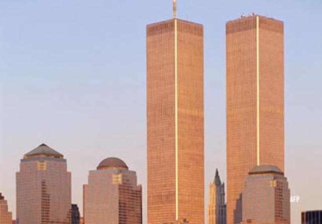 Caen las torres gemelas