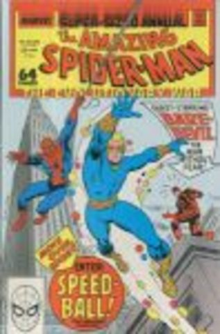 First appearance of Speedball