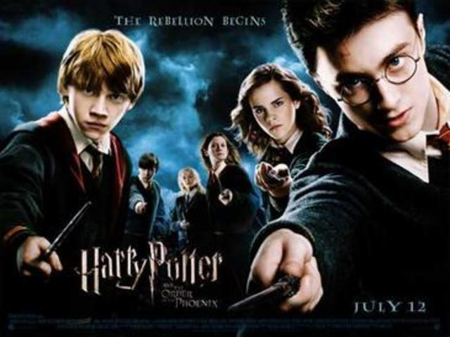 Harry Potter and the Order of the Phoniex