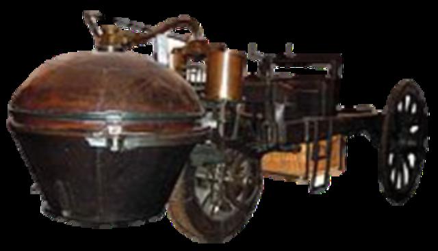 Primer prototipo del carro
