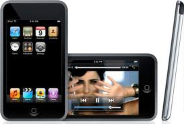 First iPod Touch.