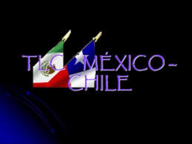 TLC CON CHILE, 1/08/1999; Objetivo.- Liberalizar una zona de libre comercial a través del Tratado de Libre Comercio.