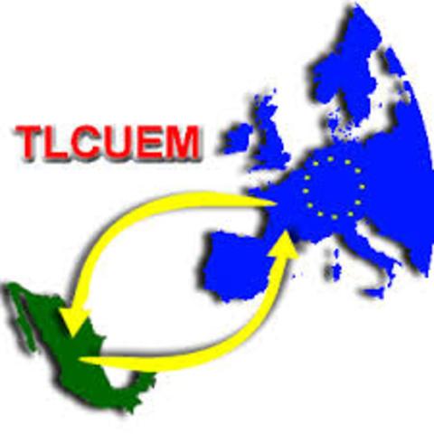 TLC UNIÓN EUROPEA, 1/01/2000, Objetivo.- Crear un espacio comercial en un contexto de integración multinacional, a través del establecimiento de una zona de libre comercio para la apertura de oportunidades externas de desarrollo.
