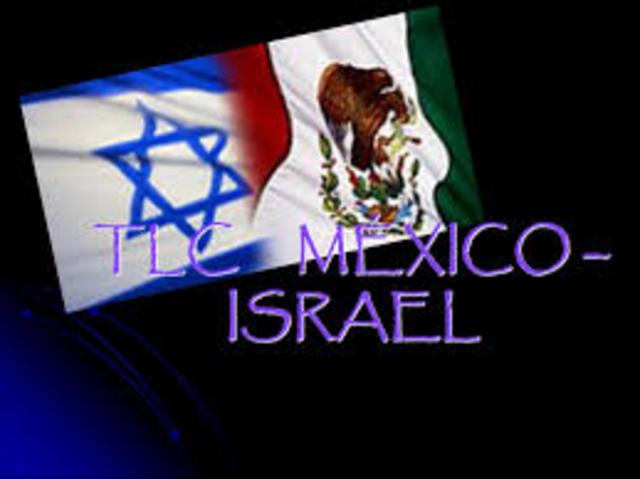 TLC CON ISRAEL, 1/04/2000, Ojetivo.- Establecer una zona de libre comercio para intensificar el comercio y la económia por medio de la liberación de gravámenes y restricciones a los importaciones originarias de los paisés signatarios.