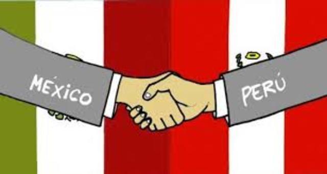 TLC CON PERÚ, 2012, Objetivo.- crear una zona de libre comercio para incrementar el desarrollo económico y de inversión.