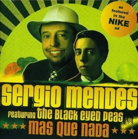 """Sergio Mendes  releases the album """"Timeless"""" which brings  a new remix of """"Mas que nada"""" with the Band """"Black eyed Peas""""."""
