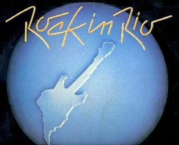 "The first ""Rock in Rio Festival"" takes place in Rio de Janeiro"