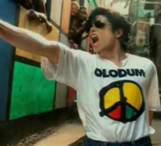 Olodnm records with Michael Jackson