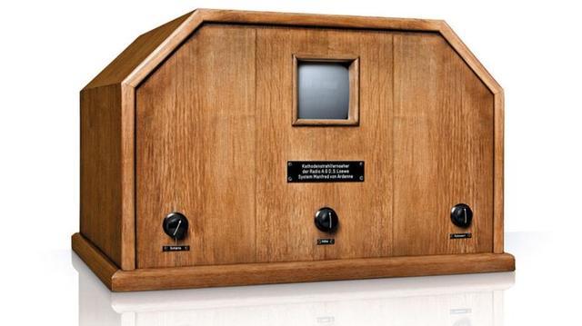 El primer televisor de la historia