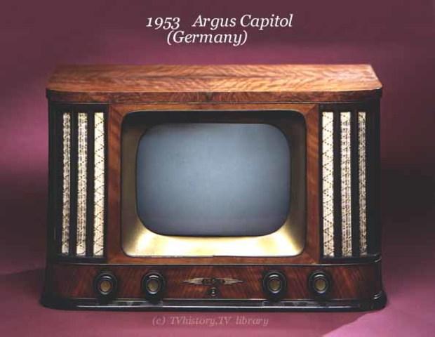 tercera generación del televisor