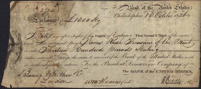 Muerte del Rey Luis XVIII y  el empréstito Baring