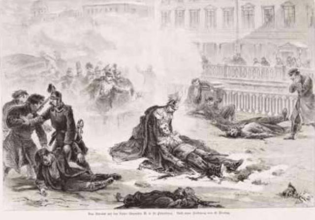 Asesinato del zar Alejandro II.