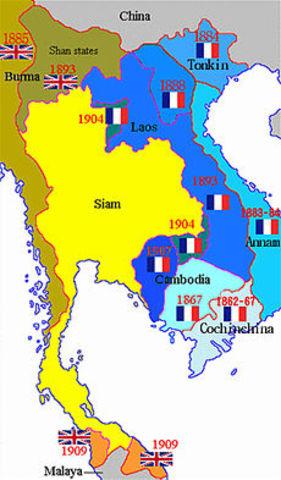 Indochina Francesa.