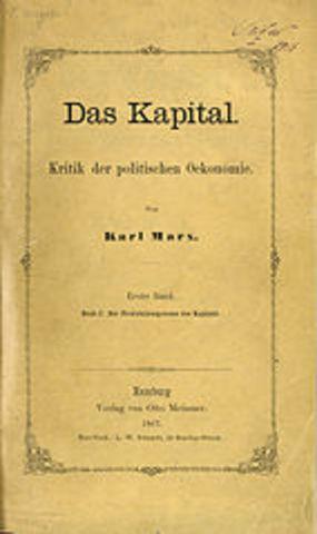 """Se Publica el Volumen I de """"El Capital"""""""