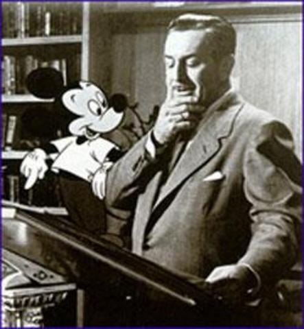 Death of Walt Disney