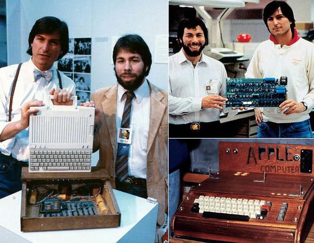 Steve Jobs y La apple 1