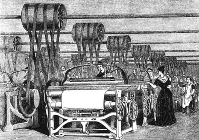 Inicio de la Revolución Industrial ll
