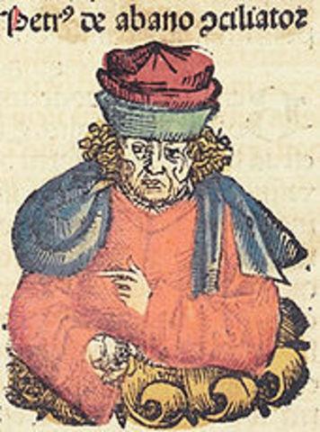 Pedro de Abano (italiano, 1250-1316)