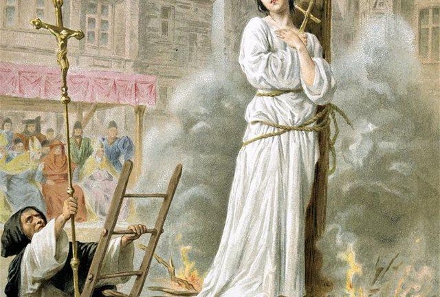 Muere Juana de Arco
