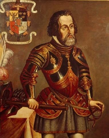 Hernán Cortés llega a Mexico