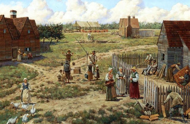 Primera Colonia inglesa en Norte de America