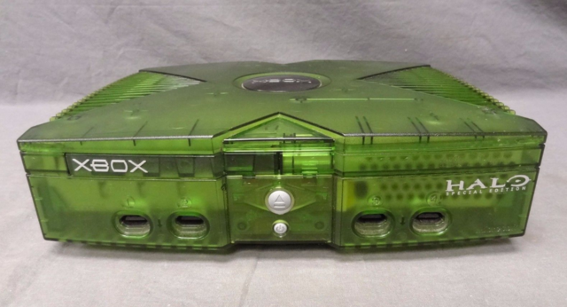 Translucent Green Xbox(Halo edition)