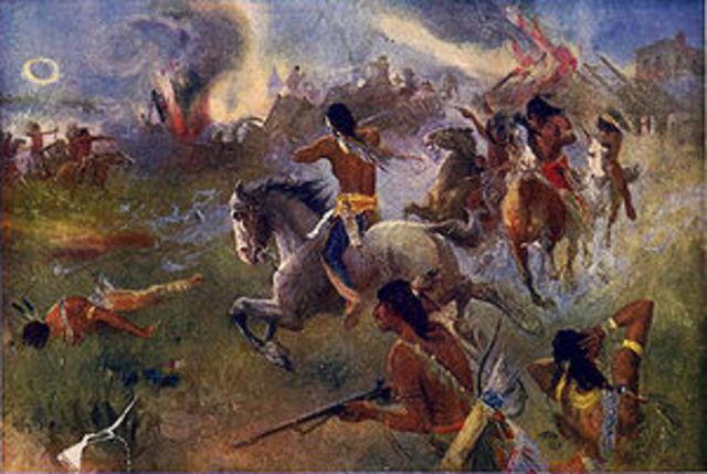 Dakota War Began