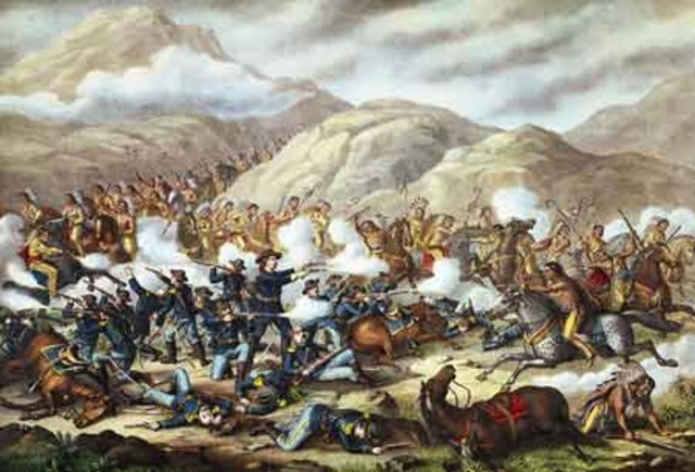 Battle of Little Big Horn/ Custer's last stand